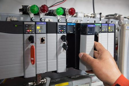 Control system relays