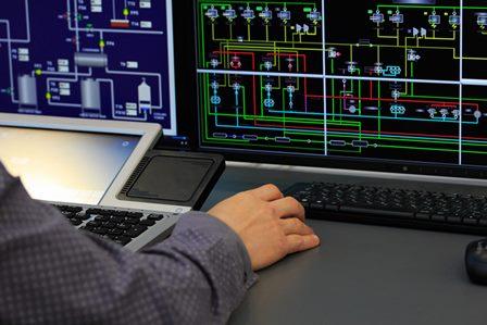 SCADA and PLC controller