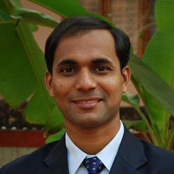 EIT teacher, Deepak Pais