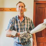 Hendrik Van Heerden and his 3D printed robotic arm